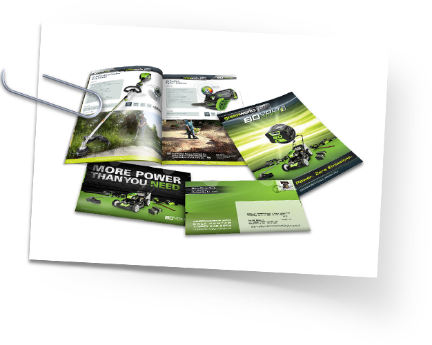 Greenworks Catalogs and Brochures