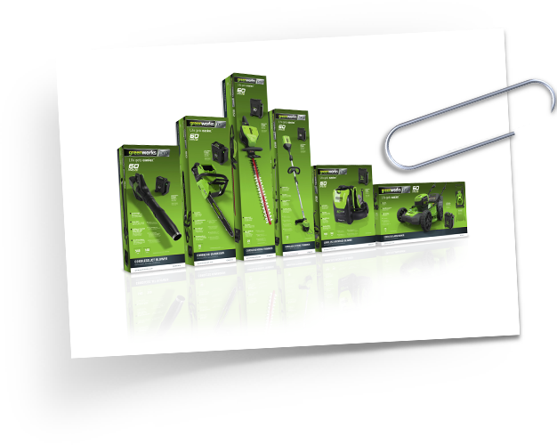 Greenworks PRO 60V Packaging