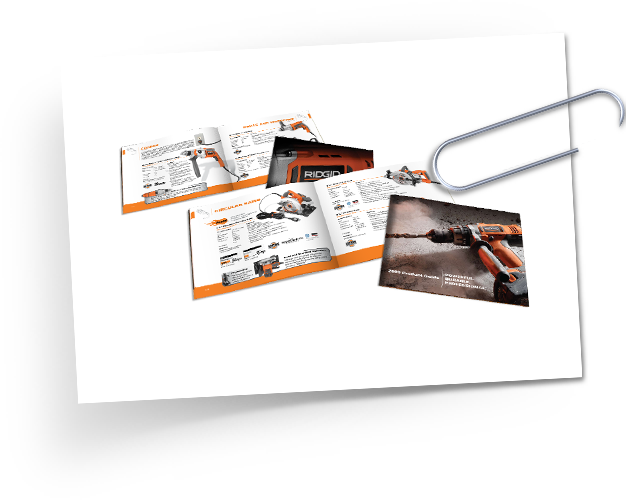 RIDGID annual full product line catalogs