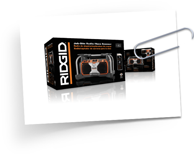 RIDGID Radio package