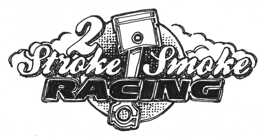 2 Stroke Smoke Racing logo